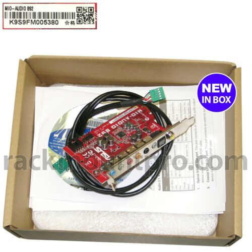 ASUS MIO-892 Audio Card New
