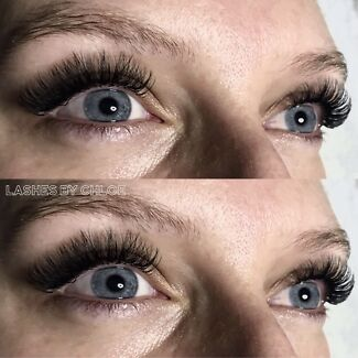 $80 Russian Volume Eyelash Extensions 2D-3D