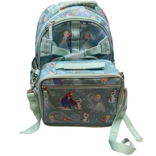 PBK Pottery Barn Kids Frozen 2 PC Size Small Bagpack Lunchba