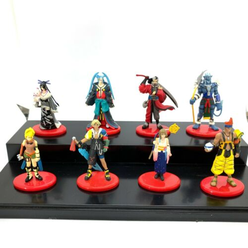 Final Fantasy X TIDA YUNA RIKKU etc Set Coca Cola Mini Figure Japan Game