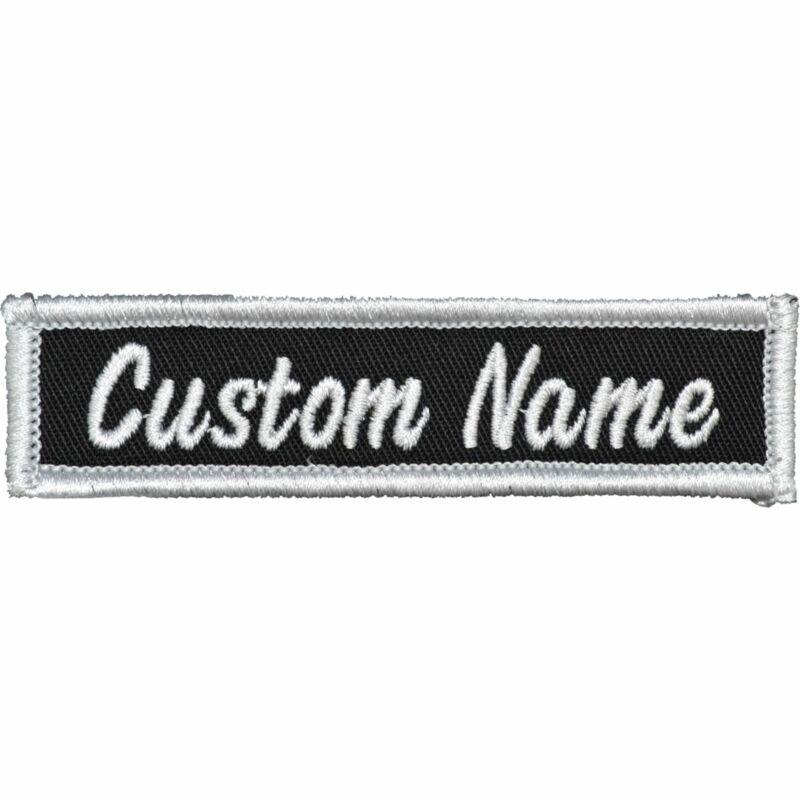 Custom Biker Vest Patch Name Strip - 1x3.75 - Sew On