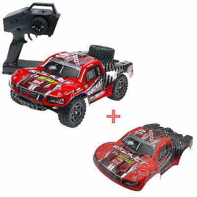 Brushed Short (REMO 1621 1/16 RC Car 50km/h Off Road Truck Waterproof Brushed Short Course SUV)