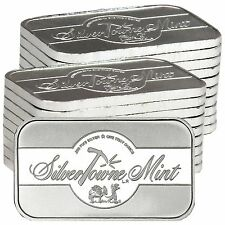 SilverTowne Mint Signature 1oz .999 Fine Silver Bar LOT of 20