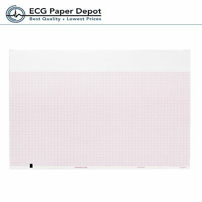 Ecg Ekg Recording Thermal Paper 8.25 X 183 Welch Allyn Compatible 3 Packs