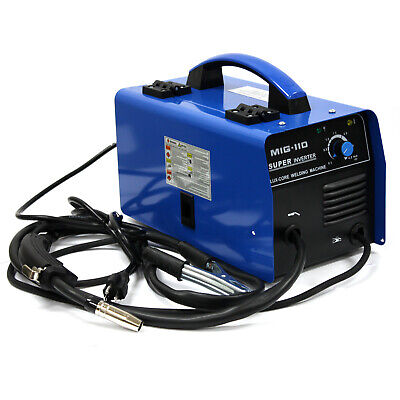 Mig-110 Inverter Flux Core Welder 110v 30-100a Gasless Auto Feed Welding Machine