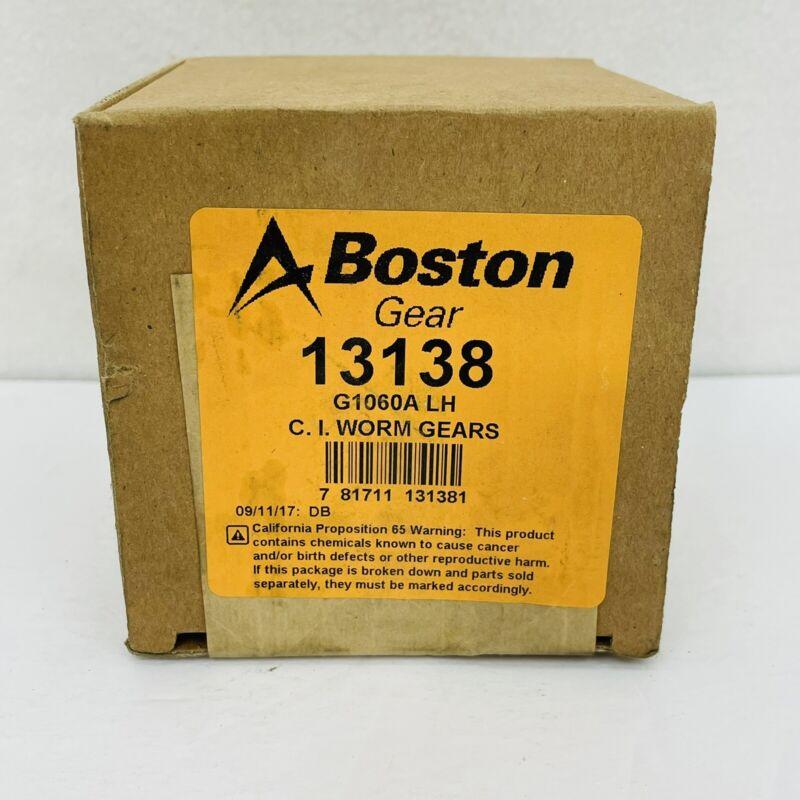 Boston Gear Altra 13138 G1060A LH C. I. Worm Gears ~New Sealed~