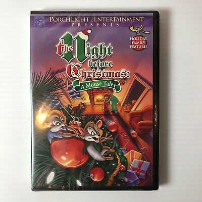 The Night Before Christmas - A Mouse Tale (DVD, 2010)