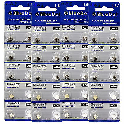 - 40 AG4 377 377A LR626 SR66 1.5 Volt Alkaline Button Cell Watch Battery USA SHIP