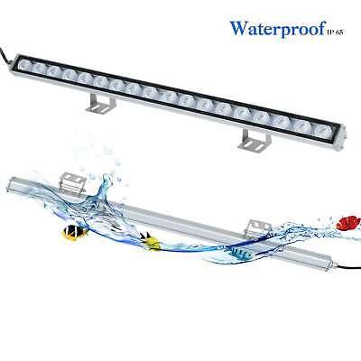 55cm lamp Blue&White 54W LED Aquarium Light bar Coral Reef Fish Tank lighting