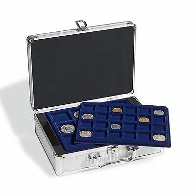 Leuchtturm Nr. 306206 Münzkoffer CARGO S6 für 112 Münzen inkl. 6 Tableaus