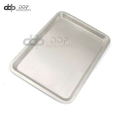 Mayo Tray 10.75 X 14.50 X .75 Surgical Instruments Non Perforated Dental