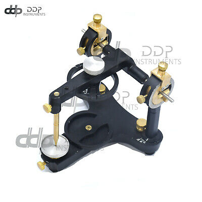 New Dental Lab Equipment Semi-adjustable Dental Articulator Black Dn-2218