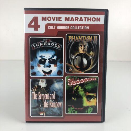 Cult Horror Collection 4 Film Favorites DVD, 2011, 2-Disc Set  - $5.95