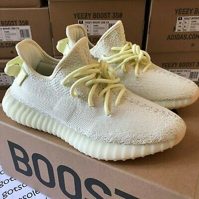Adidas Yeezy Boost 350 V2 'Butter' F36980 Cream Size UK 7 8 8.5 9 10