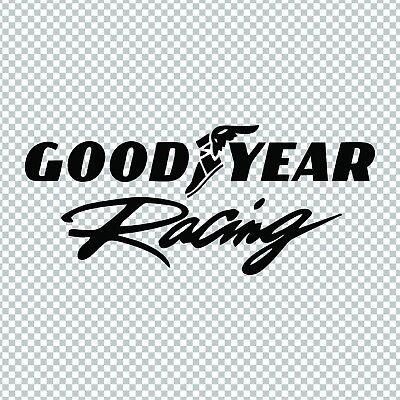 GOODYEAR RACING NASCAR DRAG RACING VINYL DECAL STICKER CAR TRUCK LAPTOP TUMBLER