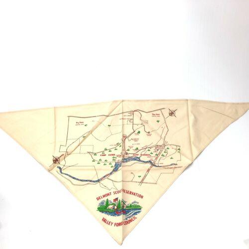 Vintage Boy Scouts Delmont Scout Reservation Valley Forge Council Neckerchief