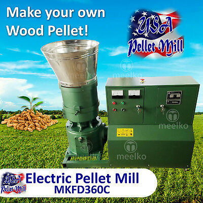 Electric Pellet Mill For Wood - MKFD360C