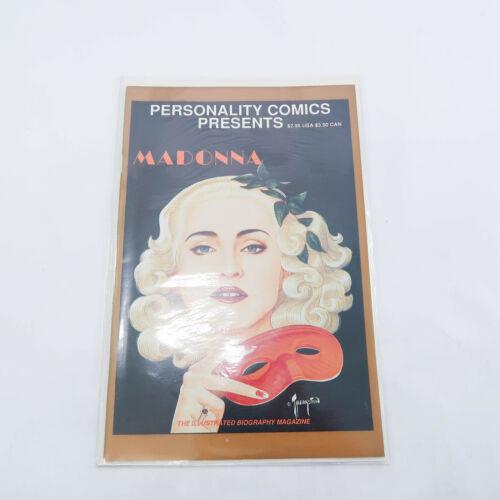 MADONNA #1 Personality Comics 2pc Comic Lot 1991 1st Print