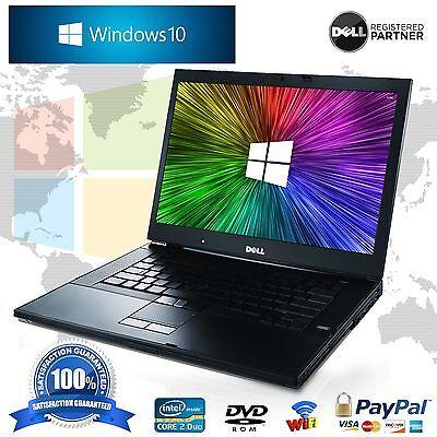 """Dell Latitude Laptop 14"""" Windows 10 Core 2 Duo 4GB 160GB WIFI Computer Notebook"""