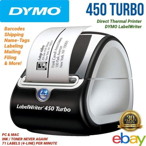 labelwriter 450 turbo thermal label printer inkless