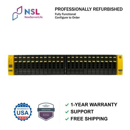 HP 3PAR StoreServ 7400c 2-Node HPE Storage E7X71A / 24 x 900Gb HDD / Rail kit