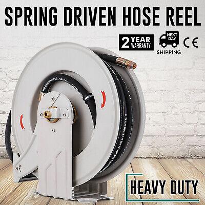 Vevor Heavy Duty Air Hose Reel 38 X 50 Ft Air Reel Powder Coating