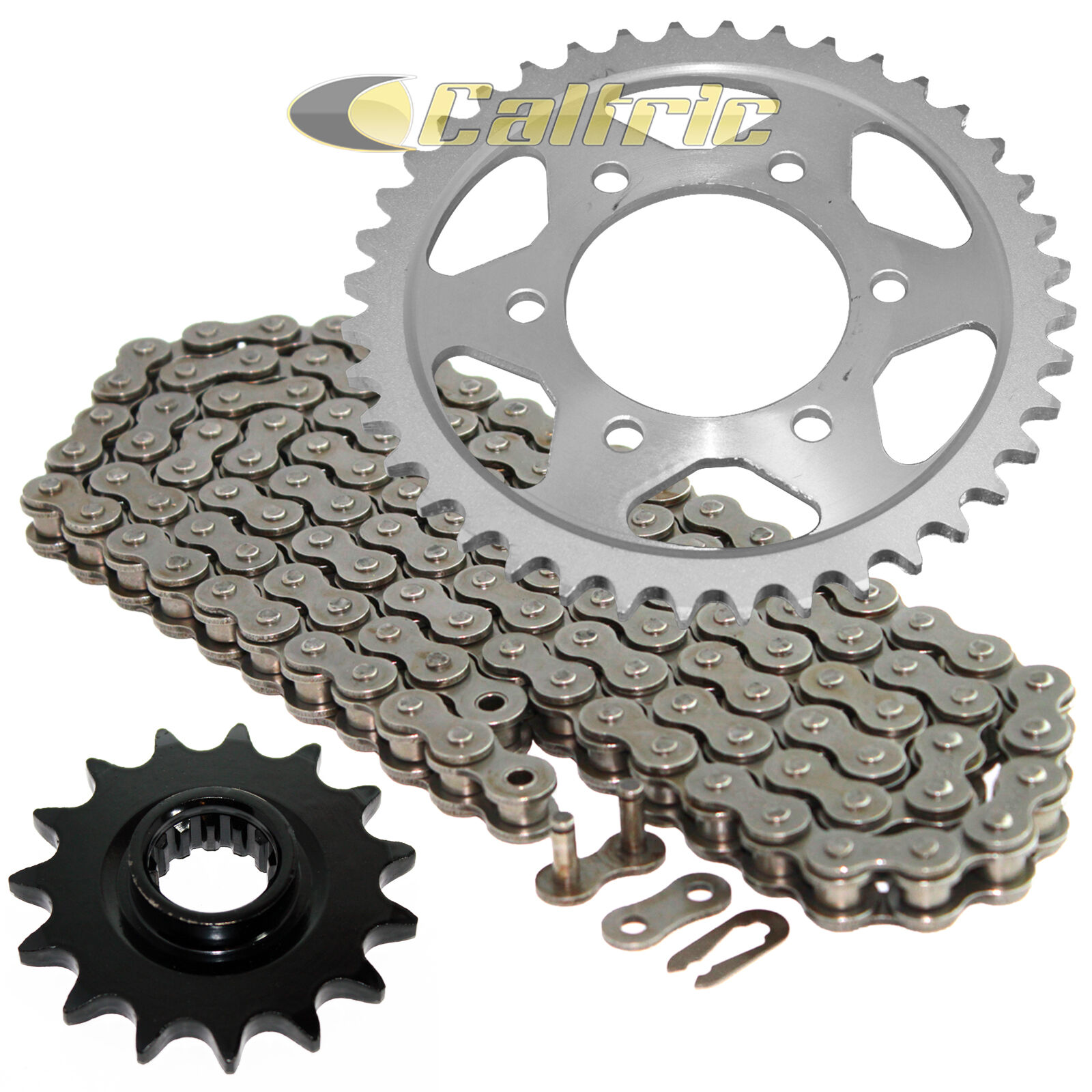 Front /& Rear Steel Sprocket Kit KAWASAKI ZZR600 2005-2008 520H Heavy-Duty Chain