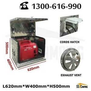 Hot ! Aluminium Generator Ventilated L620*W400*H500 Aus Stock