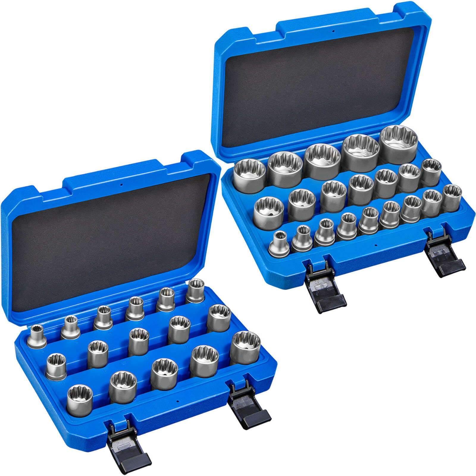 Innen oder Außen Vielzahn Steckschlüssel Satz Nuss Set Werkzeug Nüsse 1/2 Zoll