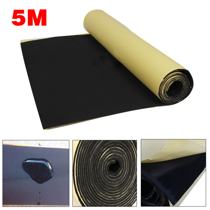 Car Parts - 5M Roll Car Sound Proofing Deadening Motorhome Van Insulation Closed Cell Foam