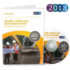 CSCS Card Test DVD Health and Safety for Managers and Professional 2018