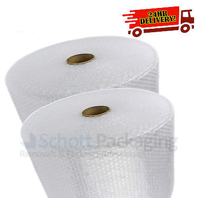 BUBBLE WRAP ROLLS - 500mm X 100M SMALL BUBBLE + NEXT DAY 24HR DELIVERY