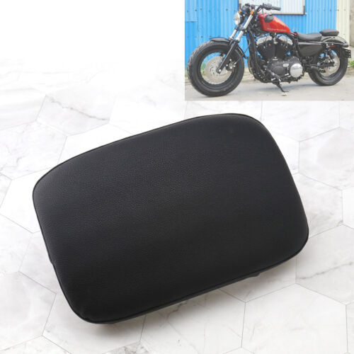 Motorcycle Rectangle Rear Pad Seat 8 Cup Suction Cushion for Harley Chopper
