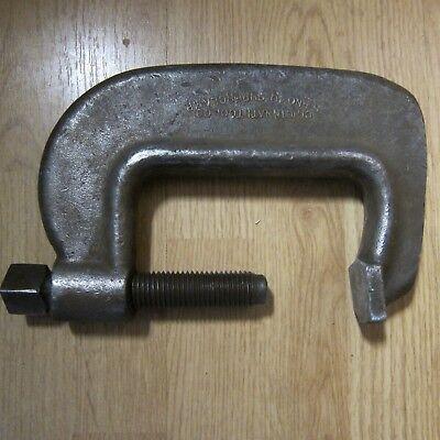 Vintage Cincinnati Tool 5-12 Hargrave Super Clamp Heavy Service C-clamp Welder