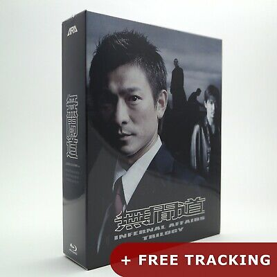 Infernal Affairs Trilogy Blu-ray Box Set