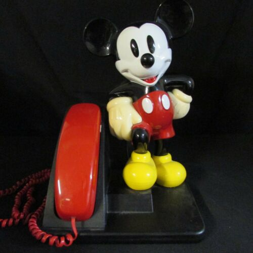 Vintage 90's Mickey Mouse House Phone; SR