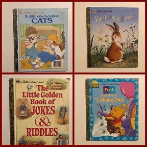 12 x VINTAGE GOLDEN BOOKS