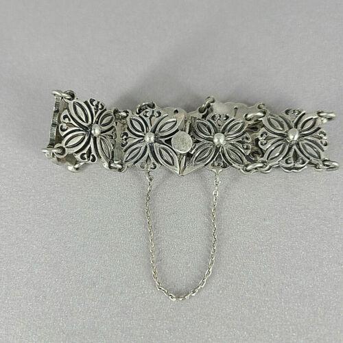 Vintage J. Flores Taxco 925 Sterling Bracelet