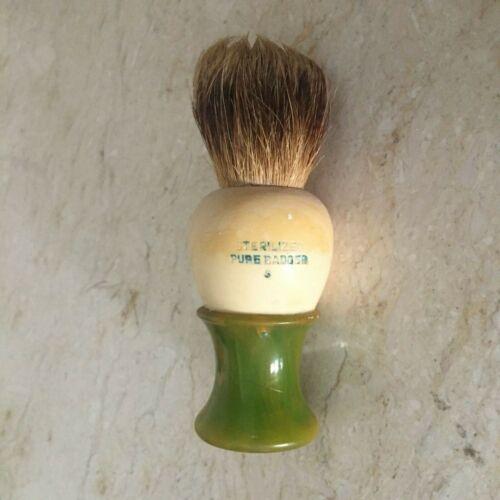 Vintage Ever Ready Shaving Brush Sterilized Pure Badger w/ Bakelite Handle 500A