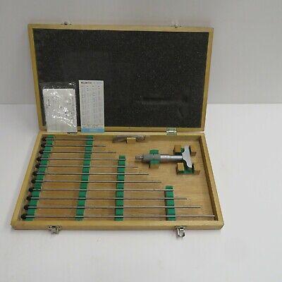 Mitutoyo 129-149 Depth Micrometer 0-12 Free Same Day Shipping