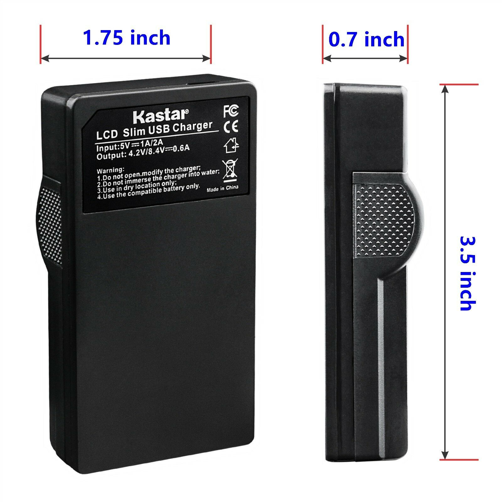 Kastar F980 Battery LCD Charger For Sony NP-F960 F750 GV-A700 GV-D200 GV-D300 - $7.99