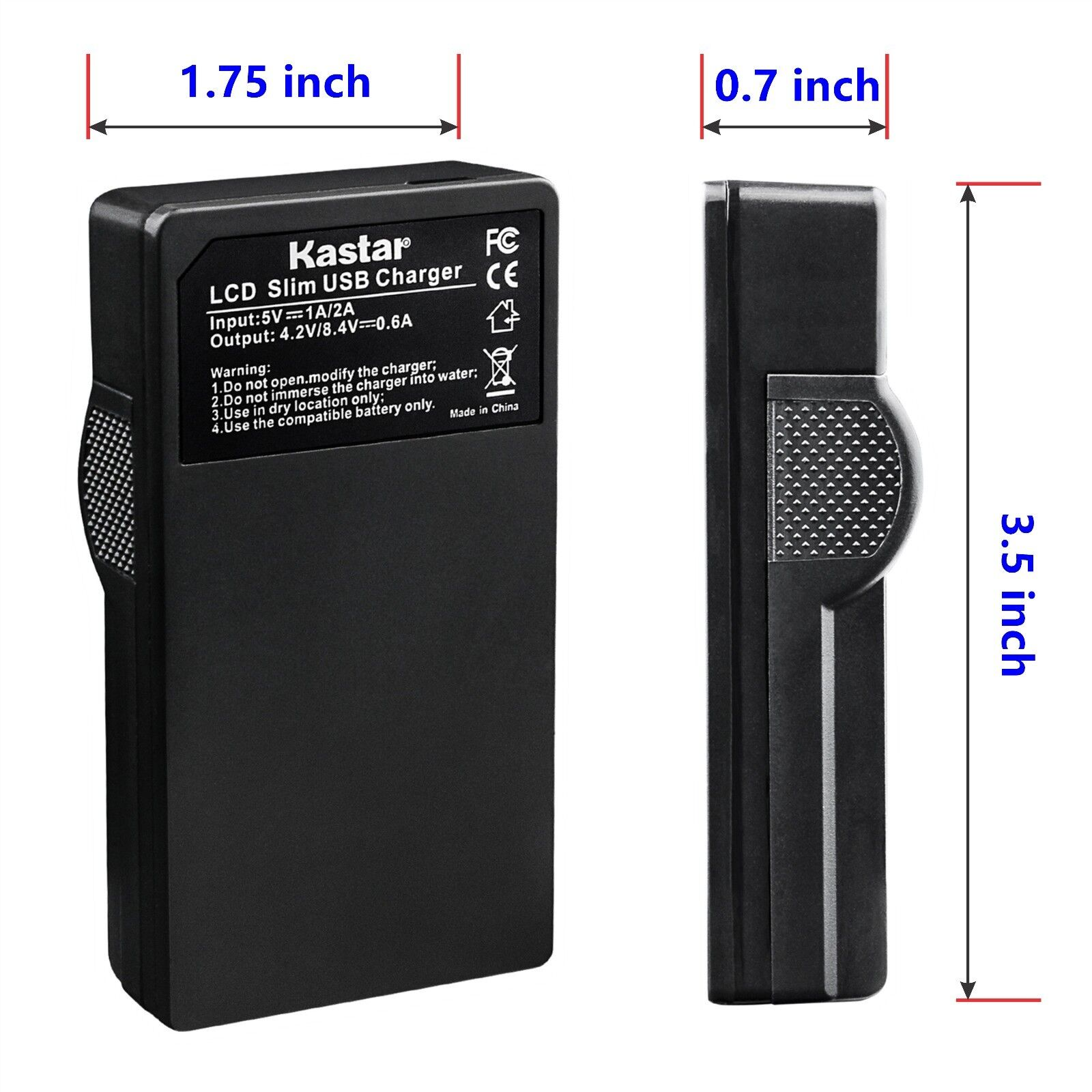 Kastar F980 Battery LCD Charger For Sony NP-F960 NP-F750 DCR-TRV130 DCR-TRV203 - $7.99