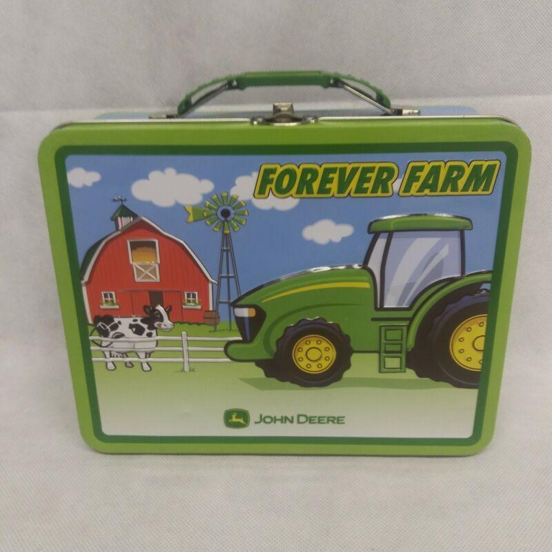 John Deere Forever Farm Lunch Box Tin