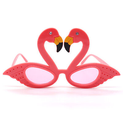 Pink Flamingo Party Glasses Sunglasses for Tropical Hawaiian Beach Party Decor (Flamingo Decorations)