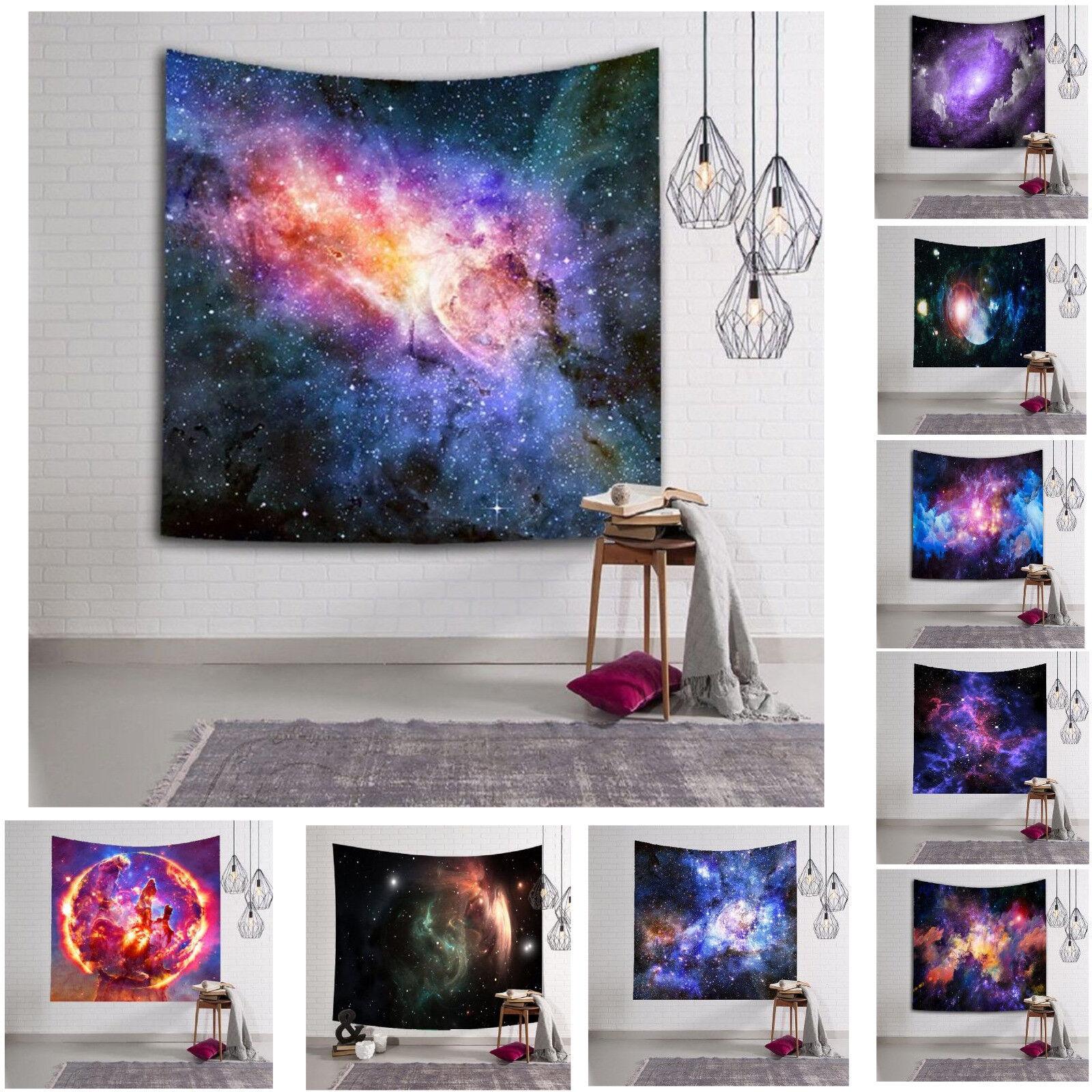 Beach Towels Galaxy Digital Printing Tapestry Hanging Wall H