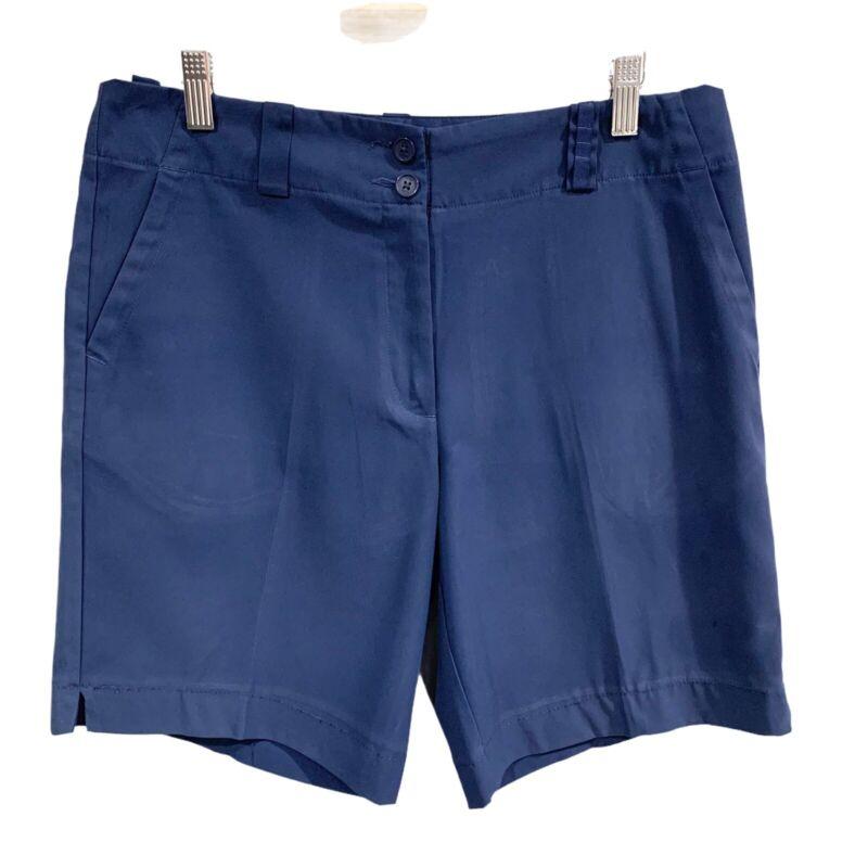Nike Golf   Navy Dri-Fit Women's Shorts- size 8