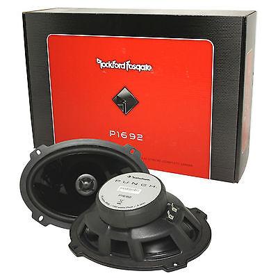 "Rockford Fosgate P1692 6x9"" Punch Series 240 Watt 2-Way Car Audio Speakers"
