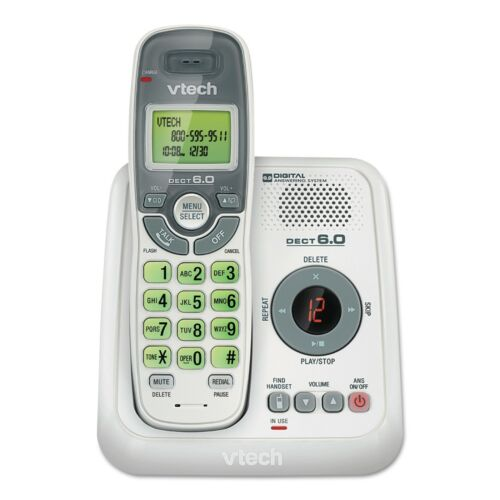 VTech CS6124 DECT 6.0 Cordless Phone with Caller ID answering system