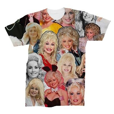 Dolly Parton Photo Collage T Shirt