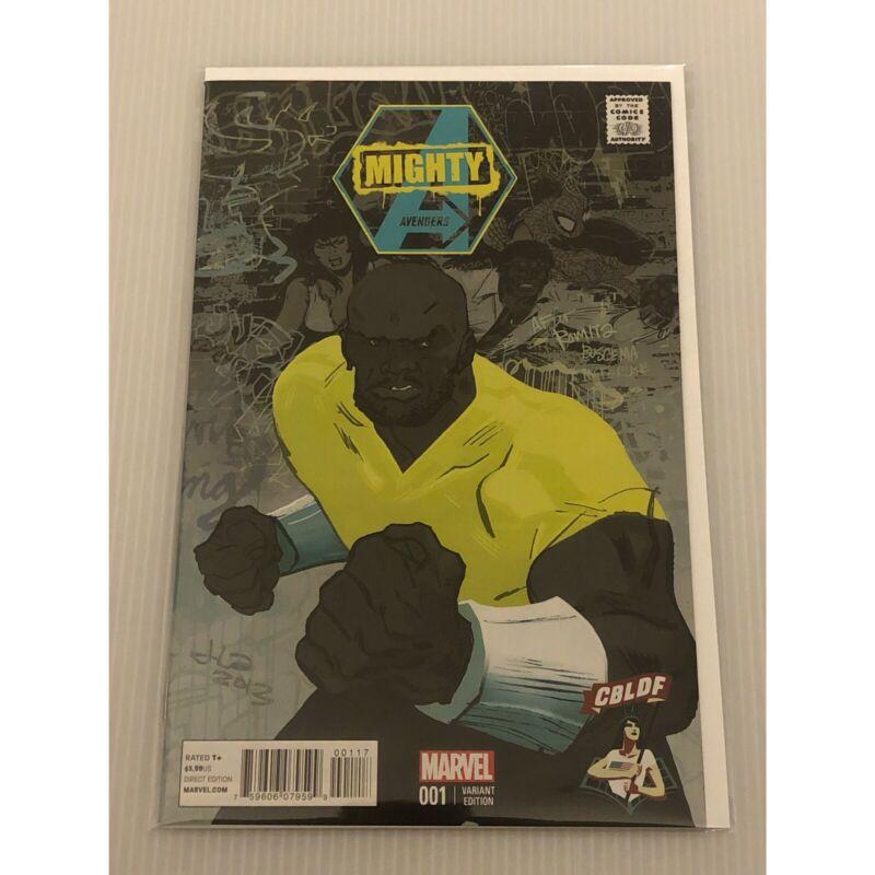 Mighty Avengers #1 CBLDF Variant NM Rambeau First Spectrum Wandavision 🔥